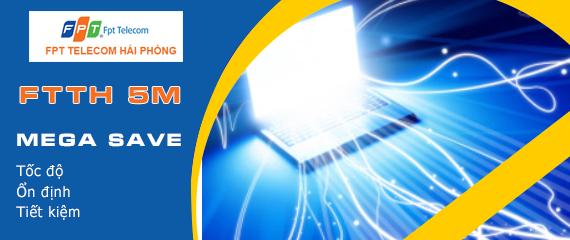 Cáp quang FPT Hải Phòng - Gói Mega Save 5M